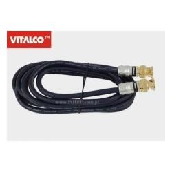 Przyłącze BNC 1,0m blister BNK02 Vitalco