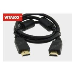 Przyłącze HDMI złote 0,8m blister HDK14 Vitalco