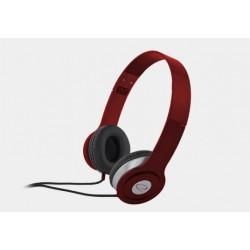 Słuchawki Esperanza Techno czerwone
