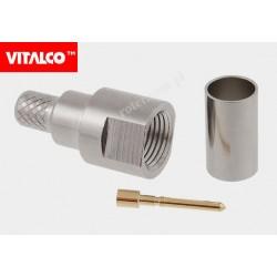 Wtyk FME zaciskany H155 Vitalco