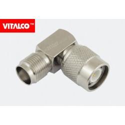 Adapter wtyk TNC/gniazdo TNC kątowy Vitalco