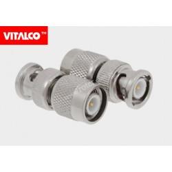 Adapter wtyk TNC/wtyk BNC Vitalco