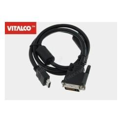 Przyłącze HDMI / DVI, DSKDV20 Vitalco 1,2m