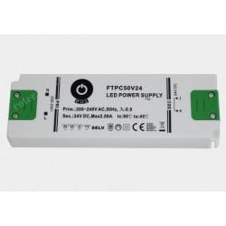 Zasilacz napięciowy LED 50W 24V 2,08A ultra cienki