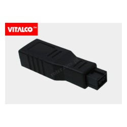 Adapter wt.IEEE 1394 9p-gn.6p Vitalco DSF90