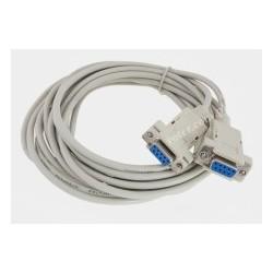 Przyłącze gniazdo 9 / gniazdo 9 (null modem), 5,0m