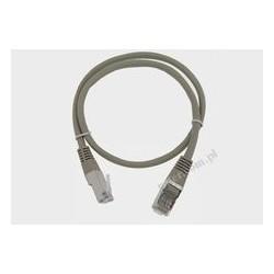 Patch cord FTP kat.5e 1,0m szary