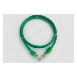 Patch cord UTP 1,5m zielony