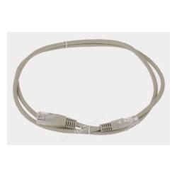 Patch cord UTP CCA 2,5m szary