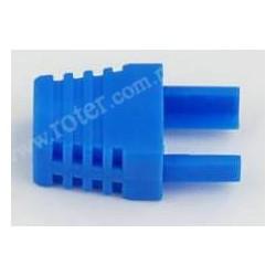 Odgiętka wtyku 8P8C, niebieska