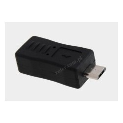 Adapter mikro USB/gniazdo mini USB economic