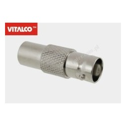 Adapter wtyk TV/gniazdo BNC Vitalco AP06