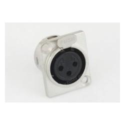 Gn. mikrof. 3p mont. metal 2,5x3,0cm