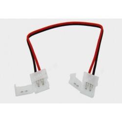Konektor 2x zprzewodem 8mm do taśm 3528