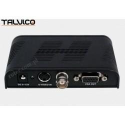 Konwerter BNC/SVHS - VGA FLY7505 Talvico