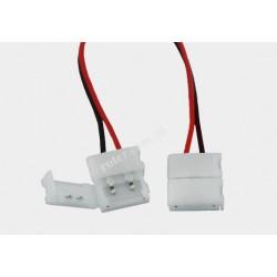 Konektor 2x zprzewodem 10mm do taśm 5050