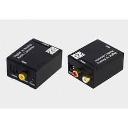Konwerter audio toslink/RCA (coaxial, spdif)