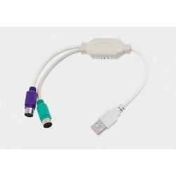 Adapter USB/2*PS2