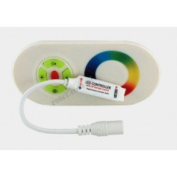 Kontroler LED RGB RF dotykowy 6A gum. przyciski