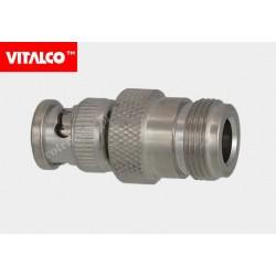 Adapter gniazdo N / wtyk BNC Vitalco