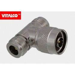 Adapter wtyk N / 2*gniazdo N Vitalco EN60