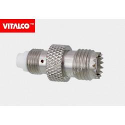Adapter gniazdo FME / gniazdo mini UHF Vitalco EF40