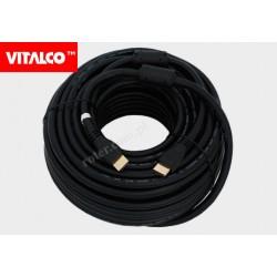 Przyłącze HDMI V1.4 czarne.25m HDK48 Vitalco