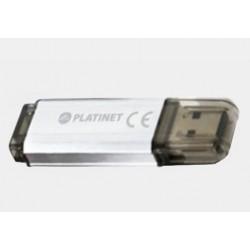 Pamięć USB 2.0 16GB Platinet Silver