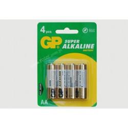 Bateria 1,5V LR 6 Super Alkaline GP
