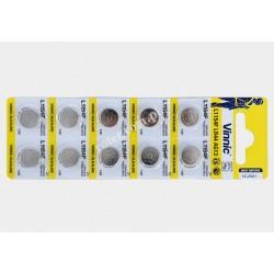 Bateria AG13 Vinnic (LR44, A76)