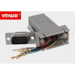 Adapter 9wt-RJ45 gn Vitalco DSP22