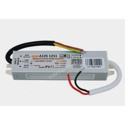 Zasilacz hermetyczny LED IP67 15W 12V 1,25A