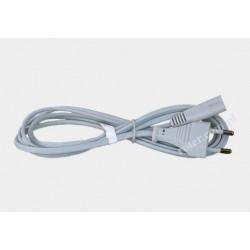 Przyłącze zasilania 230V białe 3,0m D01/QT2