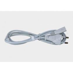 Przyłącze zasilania 230V białe 1,5m D01/QT2