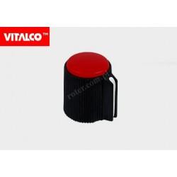 Gałka typ 52 czerwona Vitalco