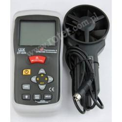 Termoanemometr CEM z pirometrem DT-620