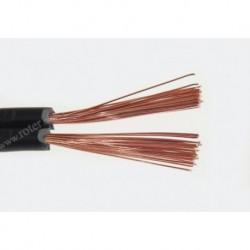 Przewód głośnikowy 2*1.50 czarny z paskiem