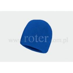 Gąbka na mikrofon, niebieska