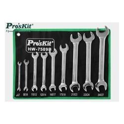 Zestaw kluczy 9szt. HW-7509B Proskit
