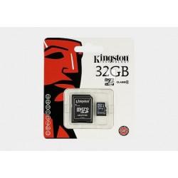 Karta pamięci mikroSD(HC) Kingston 32GB z adapterem