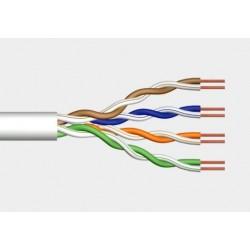 Przewód skrętka drut UTP kat.5e szary DIGITUS
