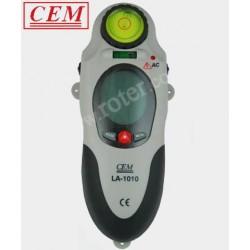 Detektor 3w1, poziomica laserowa CEM LA-1010