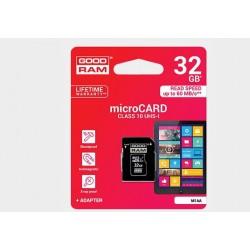 Karta pamięci mikroSD(HC) GOODRAM 32GB (class 10)
