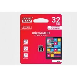 Karta pamięci mikroSD(HC) GOODRAM 32GB (class 10) z adapterem