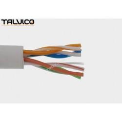 Przewód skrętka Talvico L-210 drut UTP CCA biały 305m