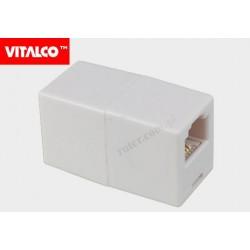 Adapter 4C 2*gn.mod. biały TR35 Vitalco