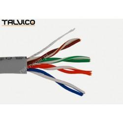 Przewód skrętka Talvico L-210 drut UTP CCA szary 305m