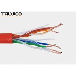 Przewód skrętka Talvico L-210 drut UTP CCA pomarańczowy 305m