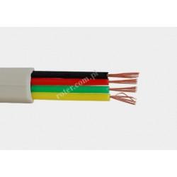 Kabel tel. 4C-100m/R Cu(7) szary RoHS Tp-2047