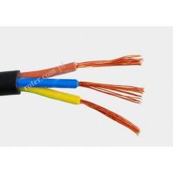 Przewód elektryczny OMY 3x0,5 czarny